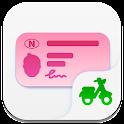 Teoriappen Moped - teoriprøven - teoritentamen icon