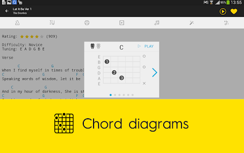 Ultimate Guitar Tabs & Chords screenshot 11