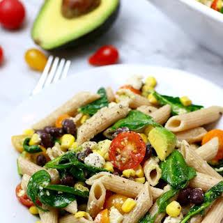 Summer Corn Pasta Salad.