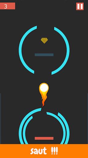 fast jump - Une balle -  jeux 2019  captures d'écran 1