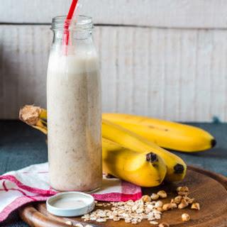 Peanut Butter Banana Milkshake.