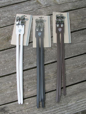 All-City Deluxe Double Toe Straps -  Leather alternate image 1