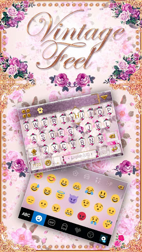 vintage feel kika keyboard screenshot 1