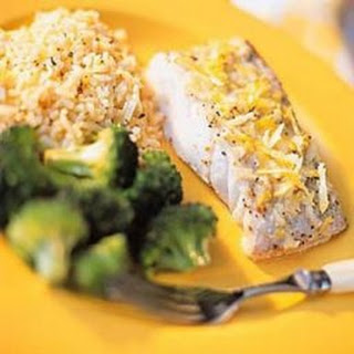 Weight Watchers Lemon Baked Fish (2 Points).