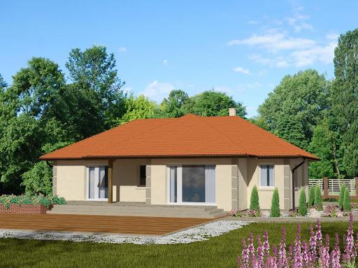 projekt Domek Sosnowy 008 ET