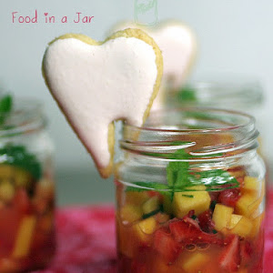 Fresh Fruit Minestrone with Coconut Cookie