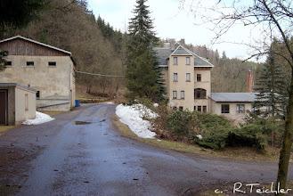 Photo: Hammermühle Neunzehnhain bei Wünschendorf im Erzgebirge Sachsen  März 2011  Foto: Reiner Teichler
