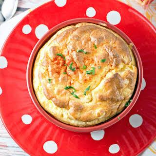 Macaroni and Cheese Soufflé.