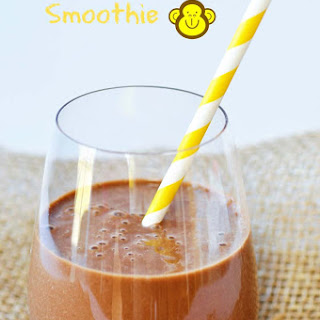 Vegan Chunky Monkey Chocolate Smoothie
