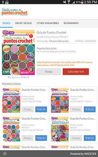 Download Guu00eda de Puntos Crochet 7.6 1