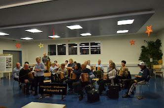 Photo: Margrit Siegrist eröffnete das Konzert vor einem vollbesetzten Saal