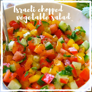 Israeli Vegetable Salad Recipes