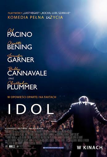 Polski plakat filmu 'Idol'