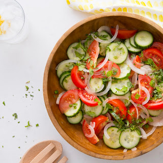 Southern Cucumber & Tomato Salad Recipe