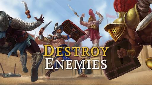 Télécharger Gratuit Gladiator Glory: Duel PVP Arena Fighting Warriors APK MOD (Astuce) screenshots 1