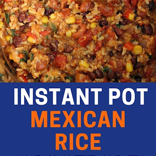 Instant Pot Mexican Rice Casserole.