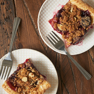 Cherry Plum Slab Pie.