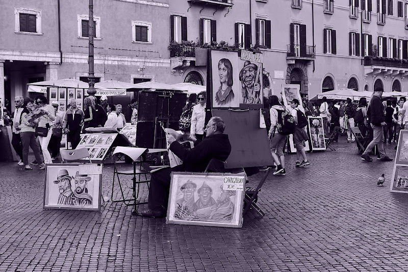 Piazza Navona di Tomassetti Sara