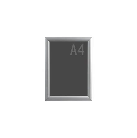 Snäppram, Econ. Frame A4, 25mm aluminiumprofil
