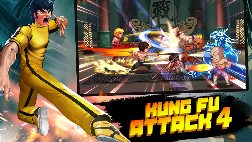 Kung Fu Attack 4 – Combo Champion Fight