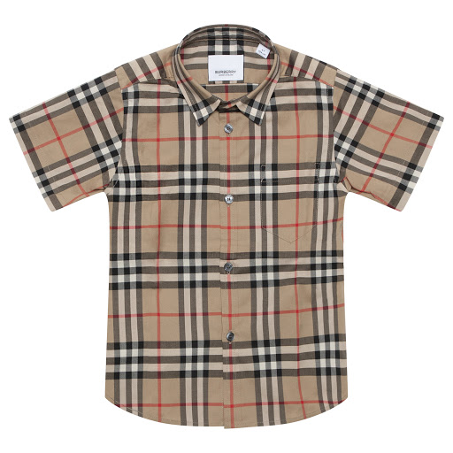 Primary image of Burberry Beige Checked Shirt