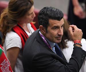 Luis Figo n'en veut pas à Florentino Pérez