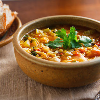 Moroccan Red Lentil Soup Recipe