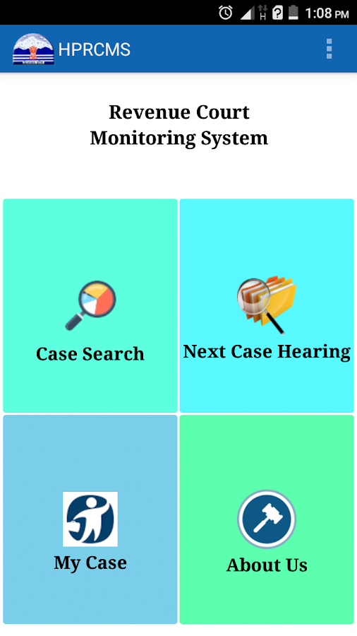 HP Revenue Court Monitoring- screenshot