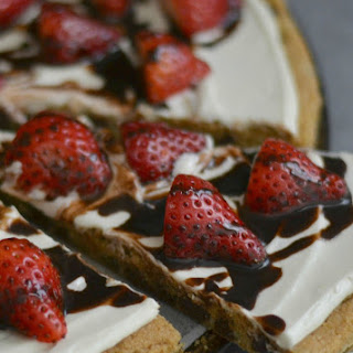 Strawberries & Cream Chocolate Chip Cookie