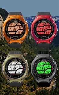 A41 WatchFace for Android Wear Smart Watch- screenshot thumbnail