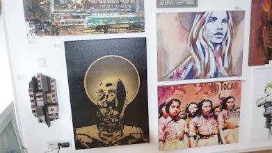 Photo: Galerie Pretty Portal; Stencils Only 2016; FAKE x Hannah Chloe x BTOY et al.