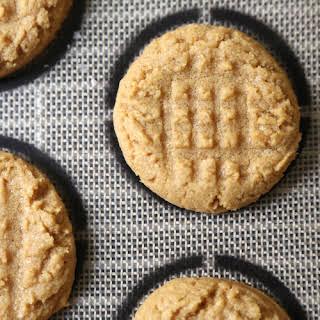 Easiest (Ever!) Peanut Butter Cookies.