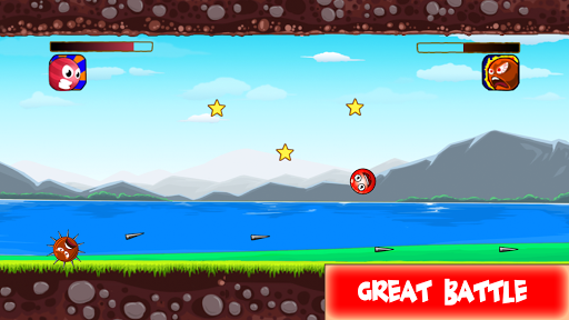 Code Triche Red Hero 3 - Roll and Jump Ball save Lover mod apk screenshots 1