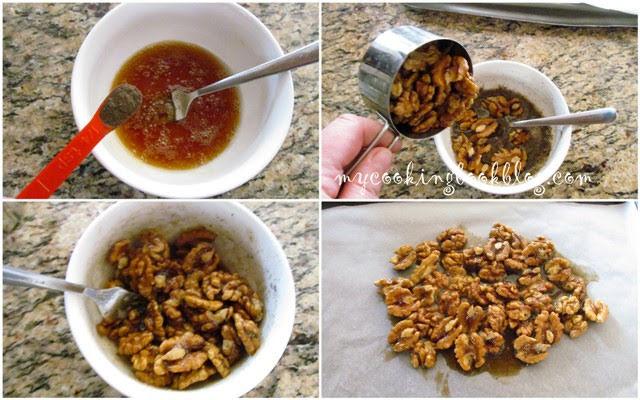 Карамелизирани пиперливи орехи