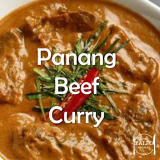 Panang Beef Curry.