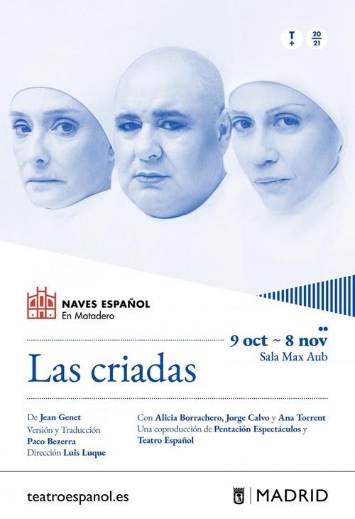 estreno de Las criadas