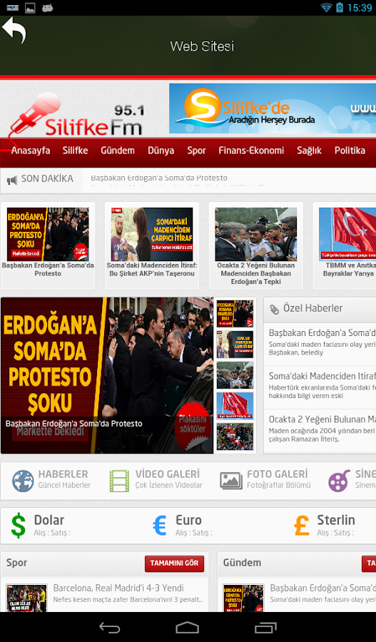 Silifke FM- screenshot