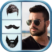 Men Hairstyle & Beard Photo Effects