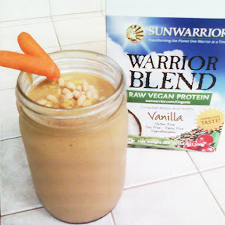 Carrot Cake & Almond Protein Cookie Smoothie