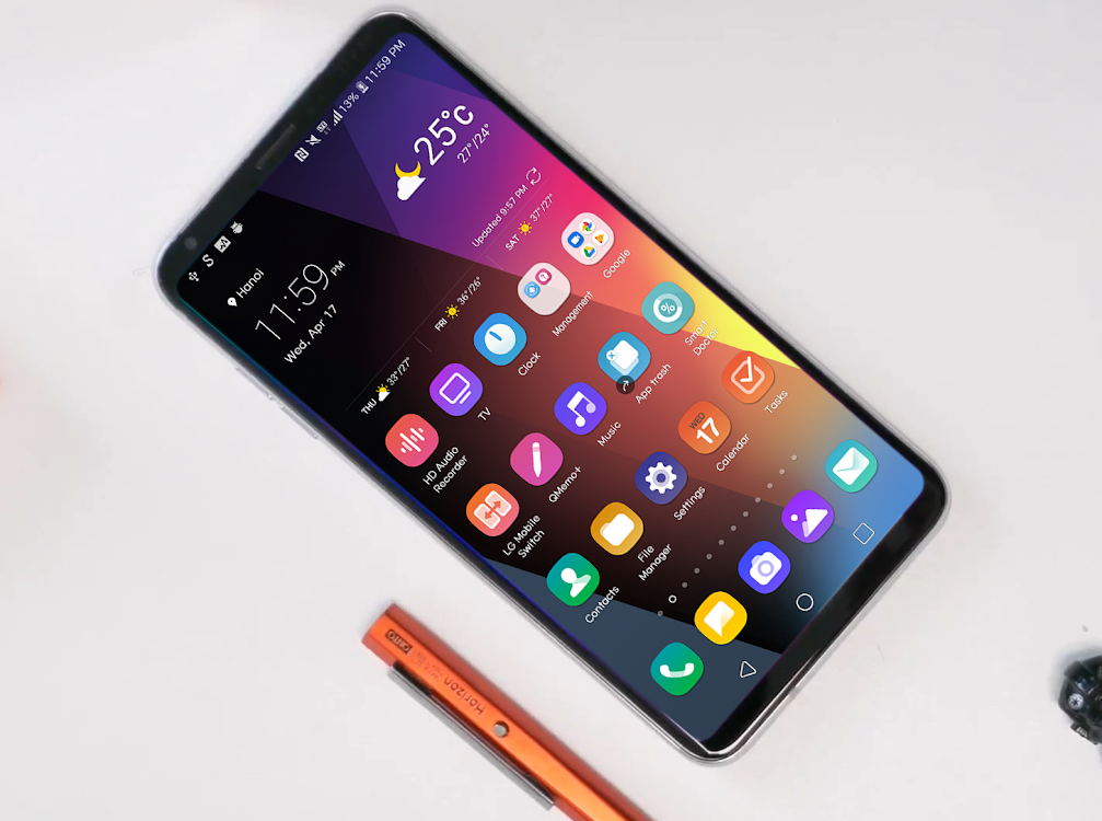 V50 Theme for LG V30 G6 V20 G5 Oreo – (Android Apps) — AppAgg