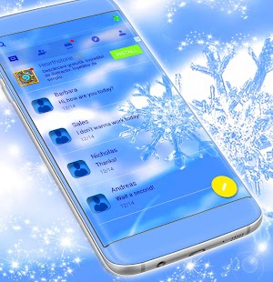 Theme Winter for SMS - náhled