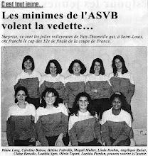 Photo: Les minimes filles qualifiées pour les 16è de finale