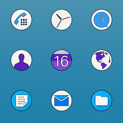 XPERIA - ICON PACK Screenshot Image
