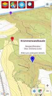 Zaniklé obce a staré mapy - náhled
