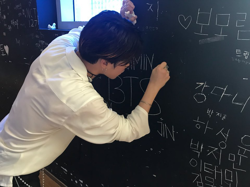 bts jimin v writing 1