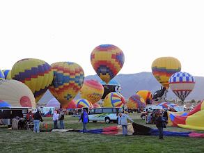 Photo: airing up balloons