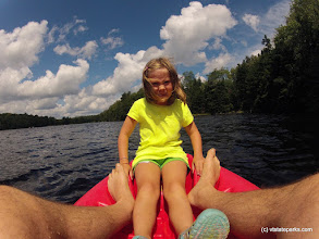 Photo: Doing the kayak at Woodford State Park