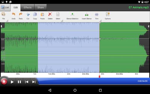 WavePad Audio Editor Free - screenshot thumbnail