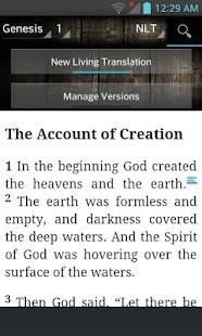Bible NLT, New Living Translation (English) - náhled