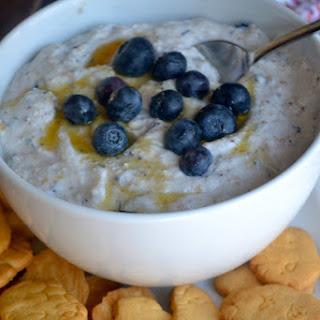 Blueberry Muffin Ricotta Dip